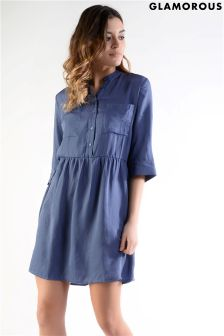 Glamorous Petite Button Up Shirt Dress