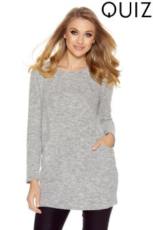 Quiz Pocket Front Tunic Dress