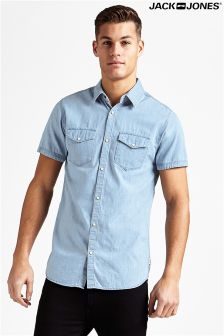 Jack & Jones Short Sleeve Denim Shirt