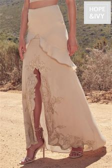Hope And Ivy Maxi Skirt