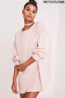PrettyLittleThing Oversized Sweater Dress
