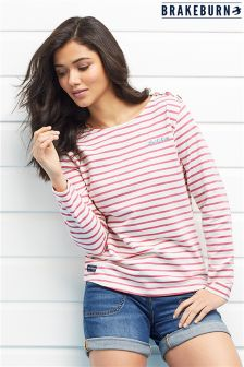 Brakeburn Stripe Long Sleeve T-shirt