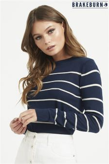 Brakeburn Stripe Knitted Jumper