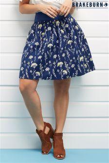Brakeburn Dandelion Skirt Denim Skirt