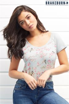 Brakeburn Bird Blossom T-Shirt