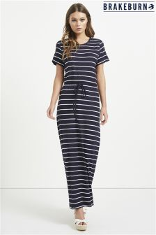 Brakeburn Striped Maxi Dress