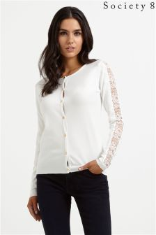 Society 8 Lace Cardigan
