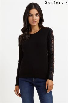 Society 8 Lace Jumper