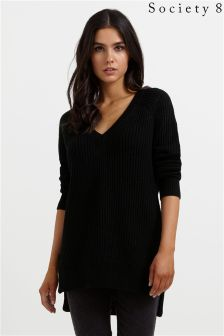 Society 8 Rib Jumper