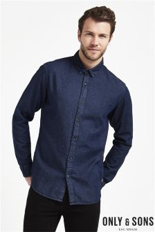 Only & Sons Denim Shirt