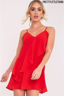 PrettyLittleThing Frill Swing Dress