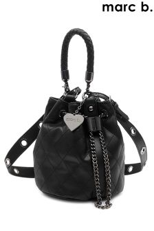 Marc B Mini Quilted Drawstring Handbag