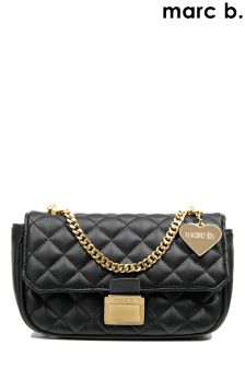 Marc B Quilted Cross Body Handbag