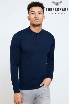 Threadbare Button Polo Shirt