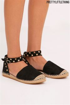 PrettyLittleThing Studded Espadrilles