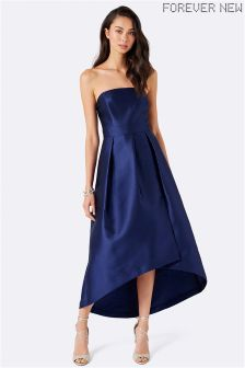 Forever New Strapless Wrap Prom Dress