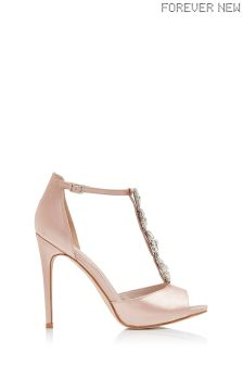 Forever New Opal Trim Embellished Heels
