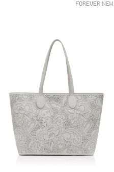 Forever New Laser Cut Tote Bag