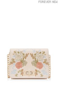 Forever New Lorilee Embroidered Cross Body Bag