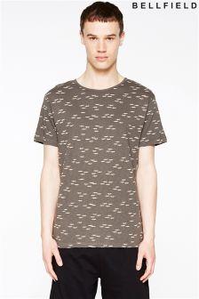 Bellfield Seagul Print T-Shirt