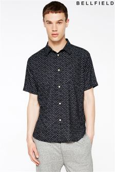 Bellfield Short Sleeve Printed Shirt