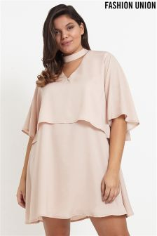 Fashion Union Curve Satin Shift Dress