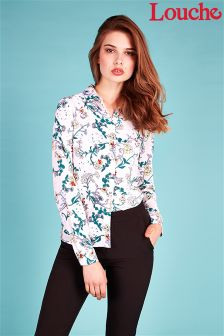 Louche Floral Print Long Sleeve Shirt