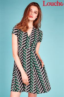 Louche Zig Zag Dress