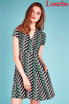 Louche Zig Zag Dress