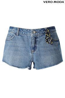 Vero Moda Raw Edge Shorts