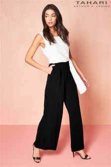 Tahari Two Tone Jumpsuit