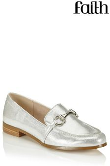 Faith Metallic Loafers
