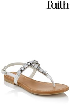 Faith Jeweled Sandals