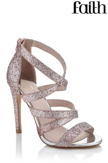 Faith Ombre Sparkle Heeled Sandals