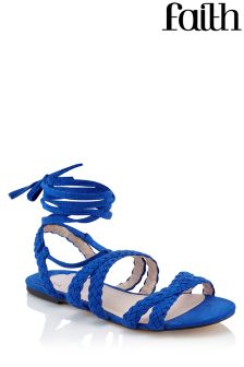 Faith Wrap Around Flat Sandals