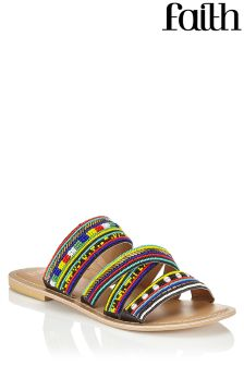Faith Beaded Sandals