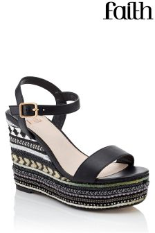 Faith Aztec Detailed Wedge
