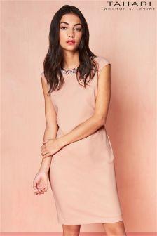 Tahari Embellished Bodycon Dress