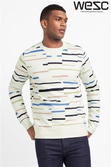WESC Stripe Sweatshirt