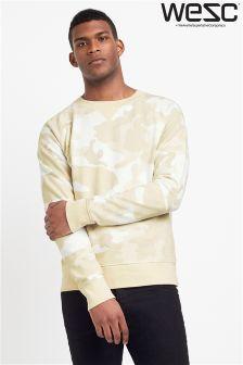 WESC Camo Sweatshirt