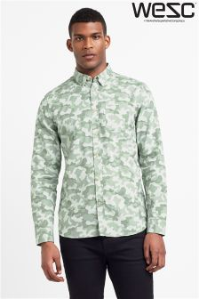 WESC Camo Relaxed Fit Shirt