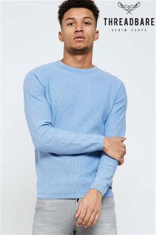 Threadbare Knitted Crew Neck Long Sleeve Jumper