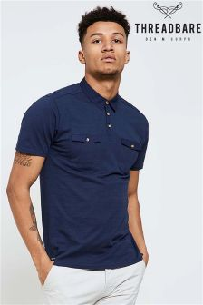 Threadbare Trim Polo Shirt