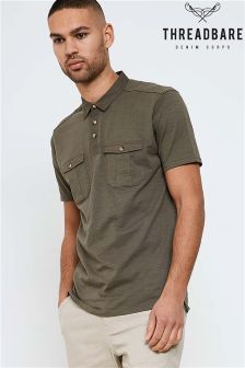 Threadbare Khaki Polo Shirt
