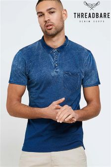 Threadbare Ombre Polo Shirt
