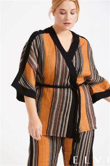 Elvi Stripy Kimono