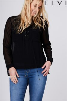 Elvi Curve Cross Over Shirt