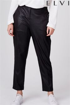 Elvi Textured Pu Trousers