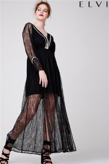 Elvi Premium Long Lace Maxi