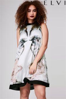 Elvi Premium Print Dress